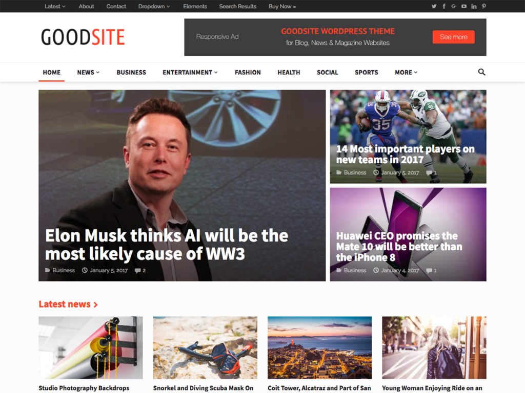 Goodsite-Happy Themes-Best Responsive WordPress Themes