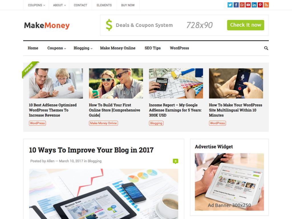 MakeMoney-Happy Themes-Best Responsive WordPress Themes