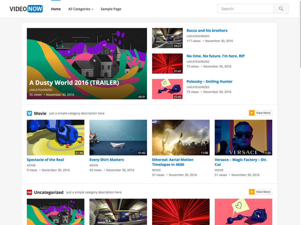 VideoNow-Happy Themes-Best Responsive WordPress Themes